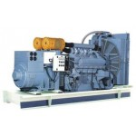 Diesel generating set with Mitsubshi engine serise