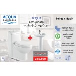 ACQUA Toillet + Basin