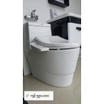 Acqua a toilet bowl with kirei electric bidet