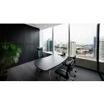 Bristol Executive Office Desk- ခိုင္ခံံ့သပ္ရပ္လွပသည့္ ကုမၸဏီရံုးခန္းသံုးစားပြဲ