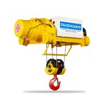 Taichuan Double Girder Hoist Single Speed Crane ကရိန္း