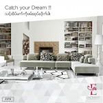 ဧည့္ခန္းအလွဆင္ Sofa Set