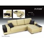 လွပေသသပ္ေသာ ဒီဇုိင္းျဖင့္ FUTURE (Sofa & Recliner)