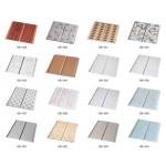 PVC Wall Panel, နံရံကပ္အလွဆင္ပစၥည္းမ်ား