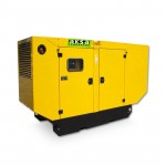 Canopy type diesel power generator