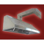လွပၿပီး ေခတ္မွီ ဆန္းသစ္ေသာ Stainless Steel ျဖင့္ထုတ္လုပ္ထားသည့္  အေညွာ္စုပ္ စက္ ( Exhaust Hood )