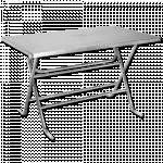 ခိုင္ခံ့ လွပပီး အသံုးျပဳရ လြယ္ ကူေသာ စတီးလ္ စားပြဲ ( Steel Table )
