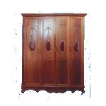 သစ္မာ ျဖင့္ျပဳ လုပ္ထားသည့္ အဝတ္ ဗီဒို ( Cabinets )