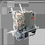 Hand-push thermoplastic road marking machine