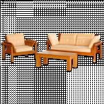 သပ္ရပ္လွပသည့္ ဆိုဖာထိုင္ခံု နွင့္ စားပြဲမ်ား ( Sofa Settee )