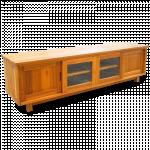 ကြ်န္းျဖင့္ျပဳလုပ္ထားေသာ ေသသပ္ လွပပီး ၾကာရွည္ခံသည့္ တီဗီြစင္ ( TV Console )