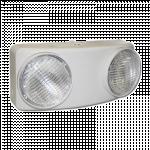 Decorative White LED Twin-Flood Emergency Light