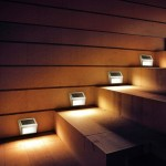 Mini Solar Sensor Stair Lamp