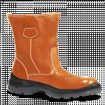 ေဆာက္လုပ္ေရး လုပ္ငန္းခြင္သံုး ေျခေထာက္ အကာကြယ္ ပစၥည္း ဘြတ္ဖိနပ္ ( Safety Shoe )