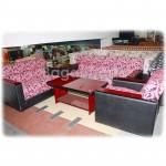 Japan style Pink Color Sofa Settee in Myanmar