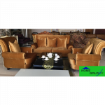 HOME GALAXY Sofa Chair - 1079A (1+1+3) အိမ္သံုး ဆိုဖာထိုင္ခံု