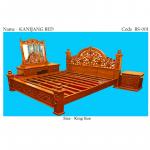 Kanijang Bed ( BS – 001 ) ကၽြန္းကုတင္