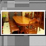 ကၽြန္းသားစားပြဲ ၁၂ ေယာက္ထိုင္ Dinning Room Table