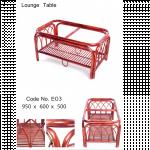 Rattan Furniture (Lounge Table ျကိမ္စားပြဲ)