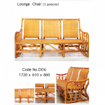 Lounge Chair (3 Persons) သံုးေယာက္ထိုင္ျကိမ္ထိုင္ခံု