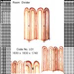 Room Divider (ျကိမ္ျဖင့္ျပဳလုပ္ထားသည့္ အခန္းအကန္႔အကာ)
