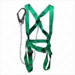 Full Body Harness with built in Lanyard and Hook (Economy)