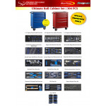 Ultimate Roll Cabinet Set | 304 pcs
