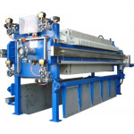 FILTER PRESS FOR SLUDGE DEWATERING WASTE WATER SYSTEM