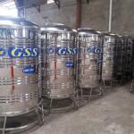 Steel Water Tank - 1000L (ရေတိုင်ကီ)